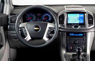Chevrolet Captiva. Modelo 2011.