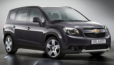 Chevrolet Orlando. Modelo 2011.