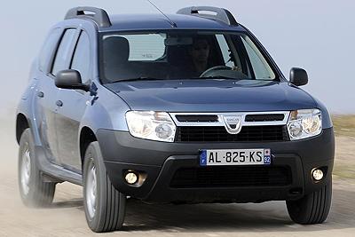 Dacia Duster. Modelo 2010.