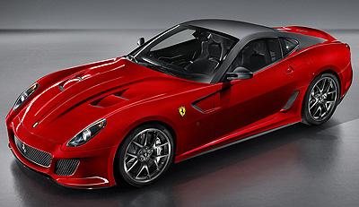 Ferrari 599 GTO. Modelo 2011.