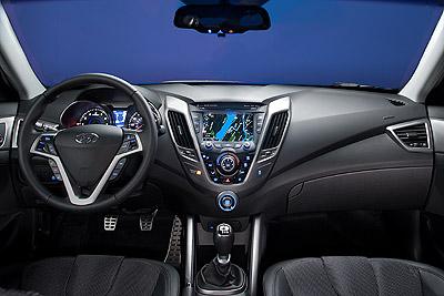 Hyundai Veloster. Modelo 2012.