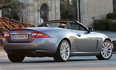 Jaguar XK Convertible. Modelo 2009