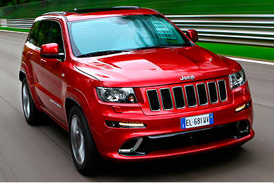 Jeep Grand Cherokee SRT8. Modelo 2012.