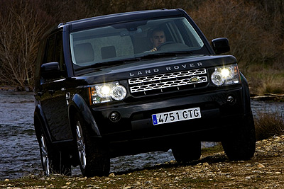 Land Rover Discovery 4. Modelo 2010.