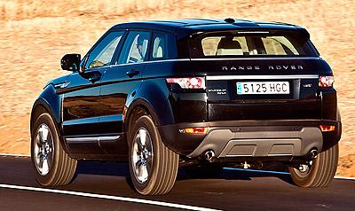 Land Rover Range Rover Evoque. Imágenes de exterior.