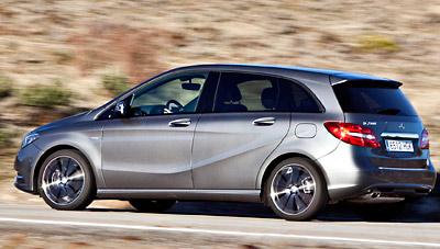 Mercedes-Benz Clase B. Modelo 2012
