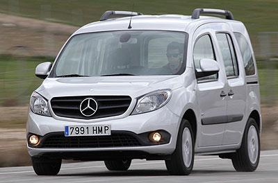 Mercedes-Benz Citan. Modelo 2013