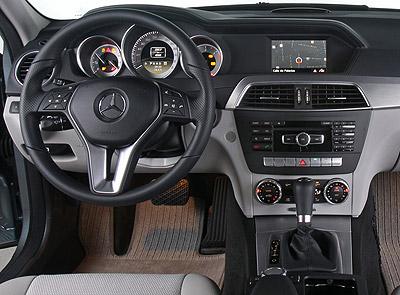 Mercedes-Benz Clase C. Modelo 2011.