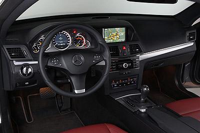 Mercedes-Benz Clase E Coupé. Modelo 2009.