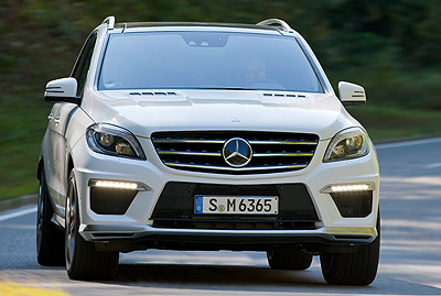 Mercedes-Benz ML 63 AMG. Modelo 2012