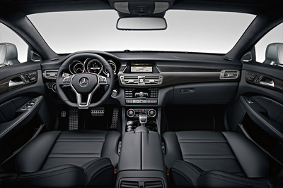 Mercedes-Benz CLS 63 AMG. Modelo 2011.