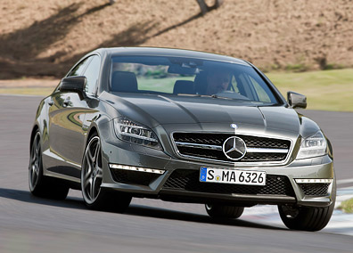 Mercedes-Benz CLS 63 AMG. Modelo 2011.
