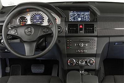 Mercedes-Benz Clase GLK. Modelo 2008.