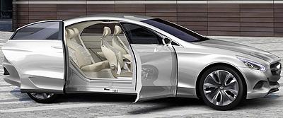 Mercedes-Benz F 800 Style. Prototipo 2010.
