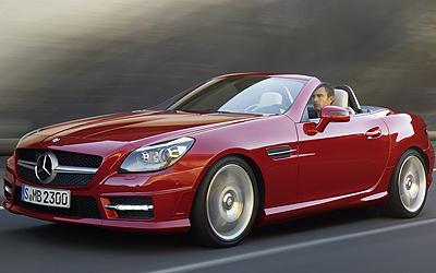 Mercedes-Benz SLK. Modelo 2011