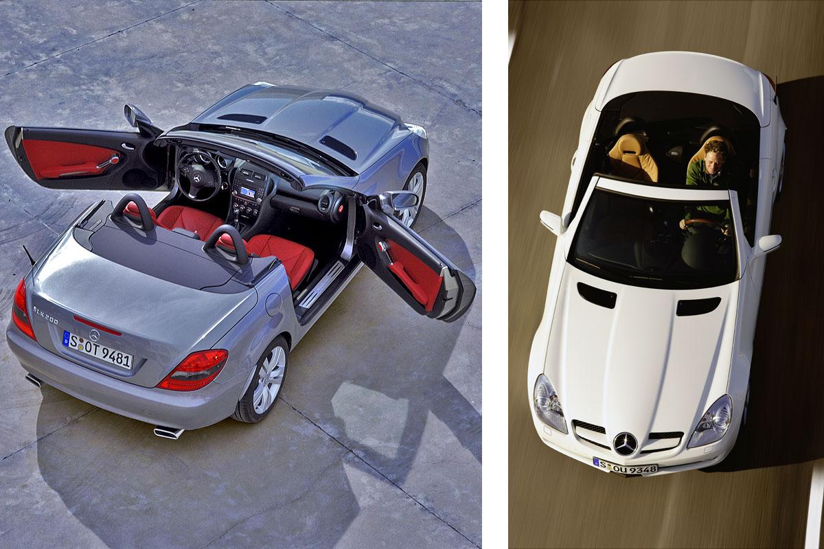 2009 梅赛德斯 奔驰 mercedes benz slk 高清图片