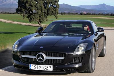 Mercedes-Benz SLS AMG. Modelo 2010.