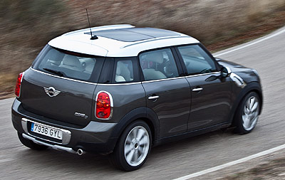 MINI Countryman. Modelo 2010.