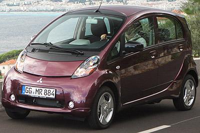 Mitsubishi i-MiEV. Modelo 2010