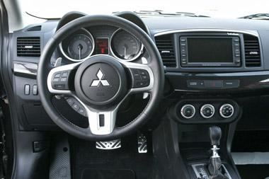 Mitsubishi Lancer Evolution. Modelo 2008.