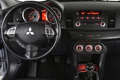 Mitsubishi Lancer. Modelo 2009.