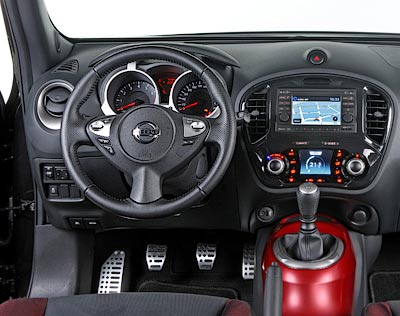 Nissan Juke. Modelo 2011.