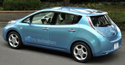 Nissan LEAF. Modelo 2011.