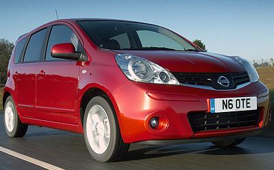 Nissan Note. Modelo 2009