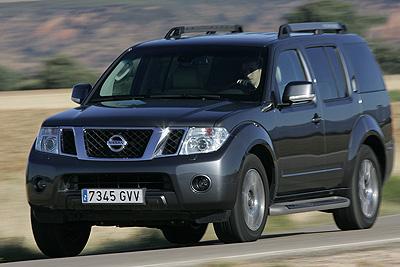 Nissan Pathfinder. Modelo 2010.
