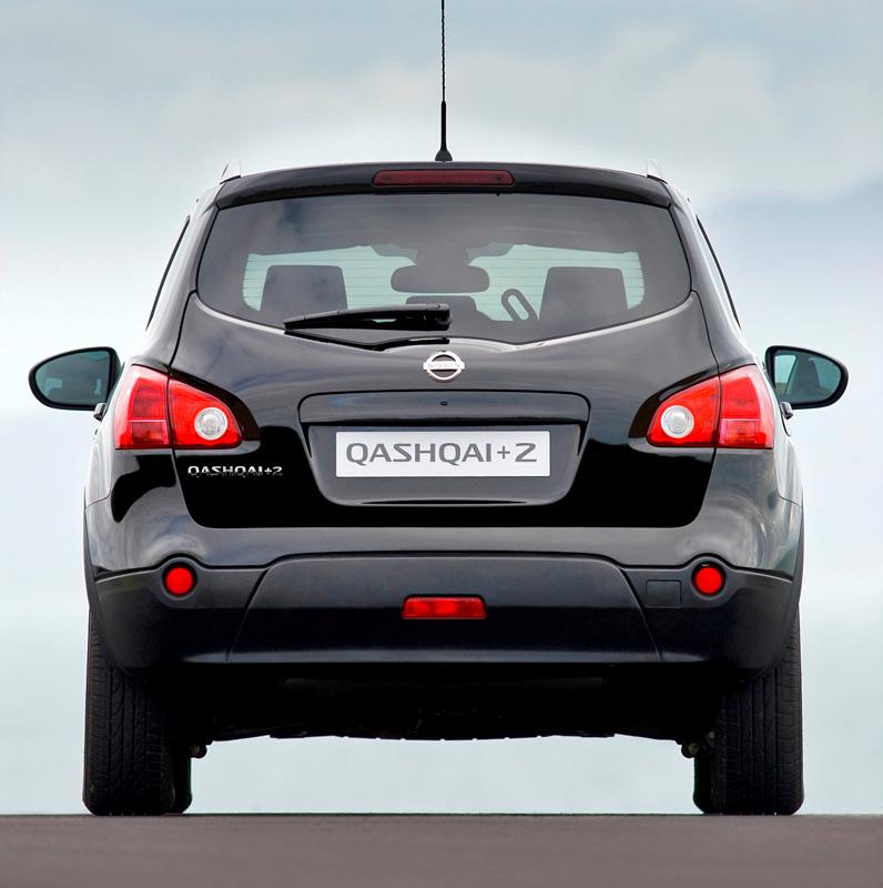 km77.com. Nissan Qashqai+2. Modelo 2009. Imagen (