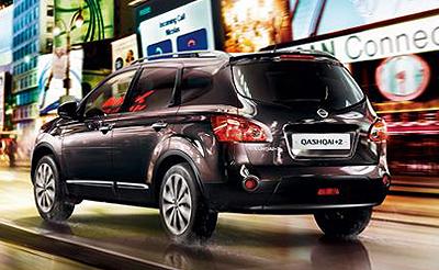 Nissan Qashqai +2. Modelo 2009.
