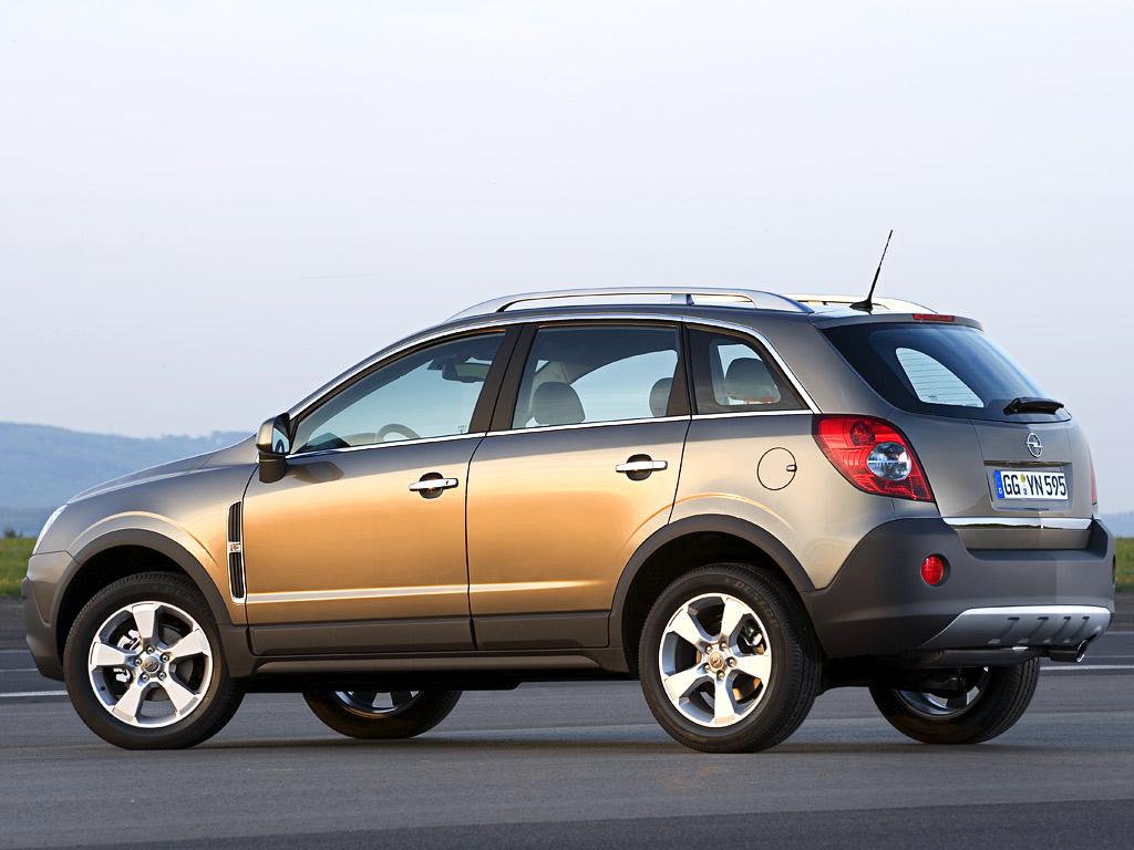 Все картинки Opel Antara.
