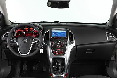 Opel Astra. Modelo 2010.