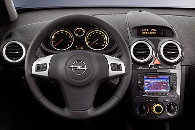 Opel Corsa. Modelo 2011.