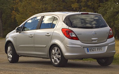 Opel Corsa. Modelo 2007