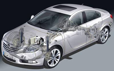 Opel Insignia. Modelo 2009