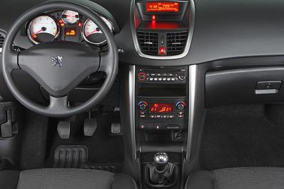 Peugeot 207 CC. Modelo 2010.