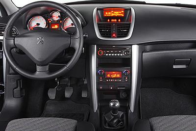 Peugeot 207 SW. Modelo 2010.