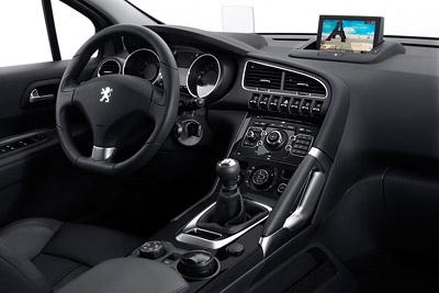 Peugeot 3008. Modelo 2009