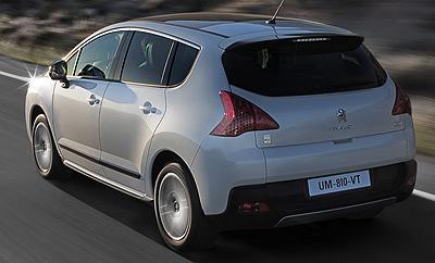 Peugeot 3008 HYbrid4. Modelo 2009