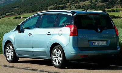 Peugeot 5008. Modelo 2010.