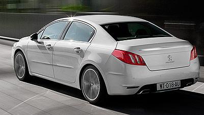 Peugeot 508. Modelo 2011.