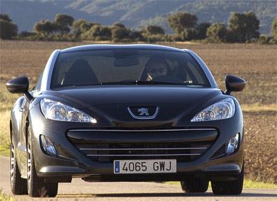 Peugeot RCZ. Modelo 2010.