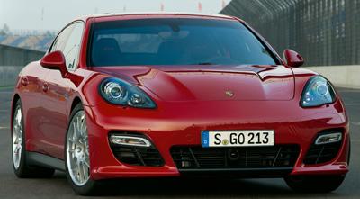 Porsche Panamera. Modelo 2010