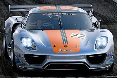 Porsche 918 RSR. Prototipo 2011.