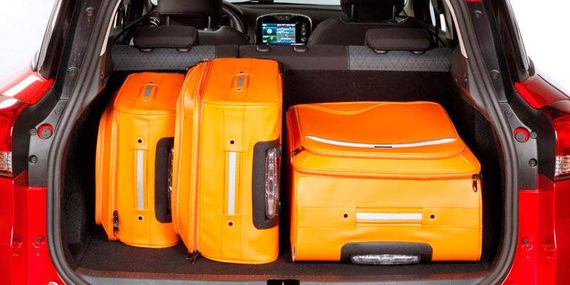 Renault clio estate luggage capacity