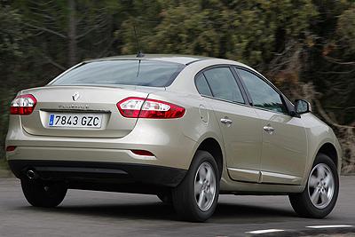 Renault Fluence. Modelo 2010