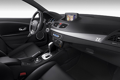 Renault Fluence Z.E. Modelo 2011.