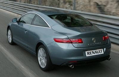 Renault Laguna Coupe. Modelo 2009.