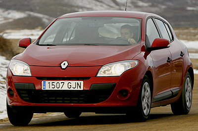 Renault Mégane. Modelo 2009